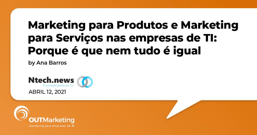 Marketing para Produtos e Serviços