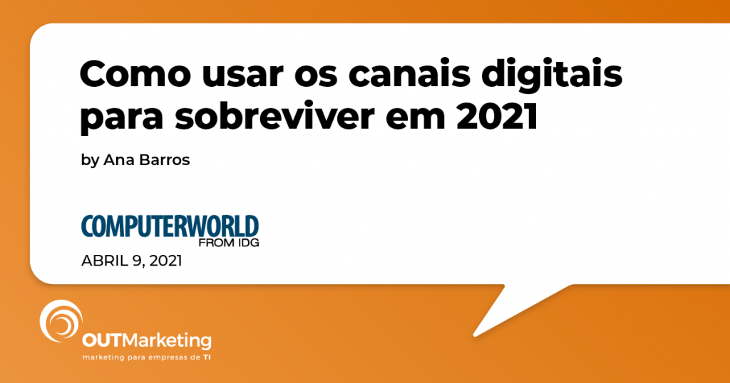 canais digitais para sobreviver em 2021